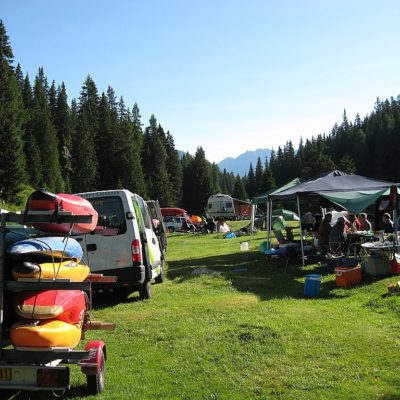 Camping en Suisse