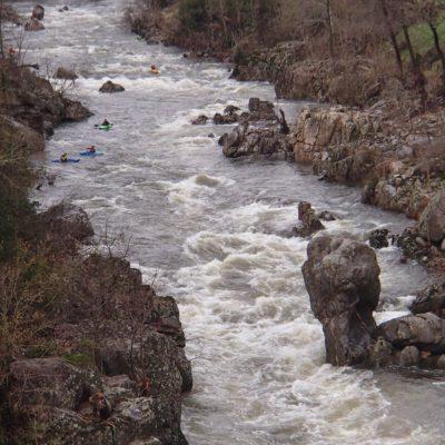 Haut-Eyrieux en Ardèche.