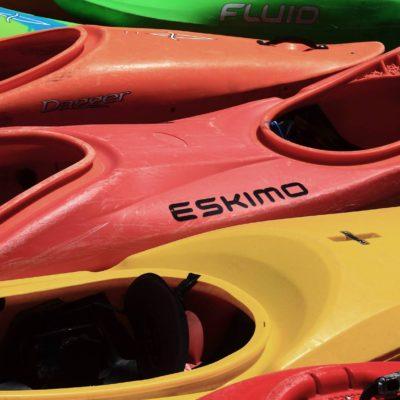 Déclinaison de kayak