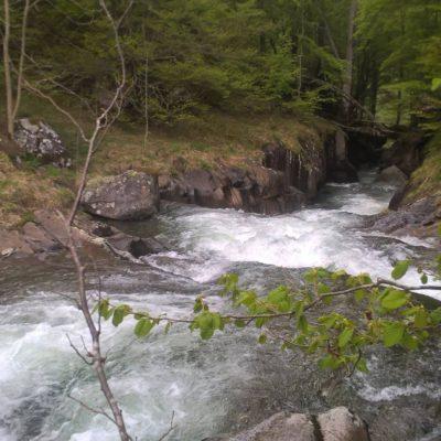 L'entrée des gorges du Cors en Ariège