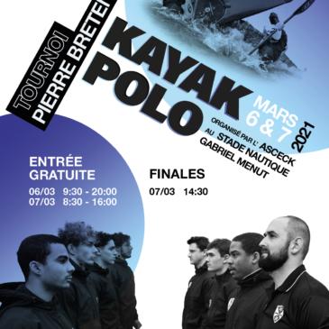 Tournoi Pierre Bretenoux Kayak Polo 6 et 7 mars 2021
