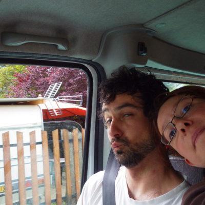 Dans le camion